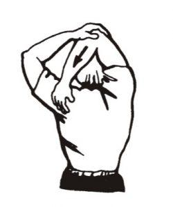 Estiramiento de triceps