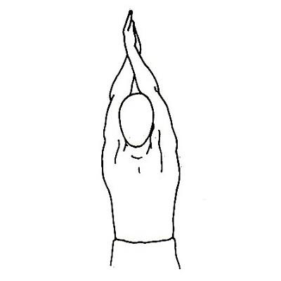 Estiramiento para hombros y espalda