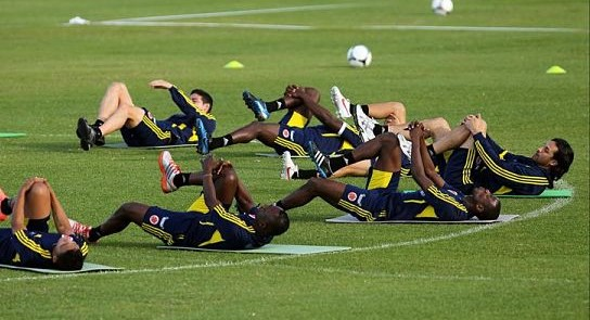 Estiramientos para futbol