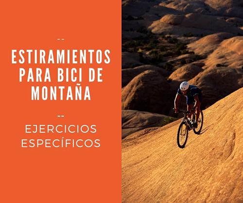 estiramientos para mountain bike