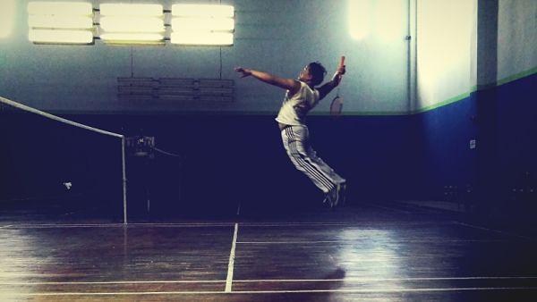 Jugador badminton